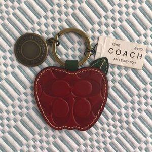 Coach Apple keychain 🍎